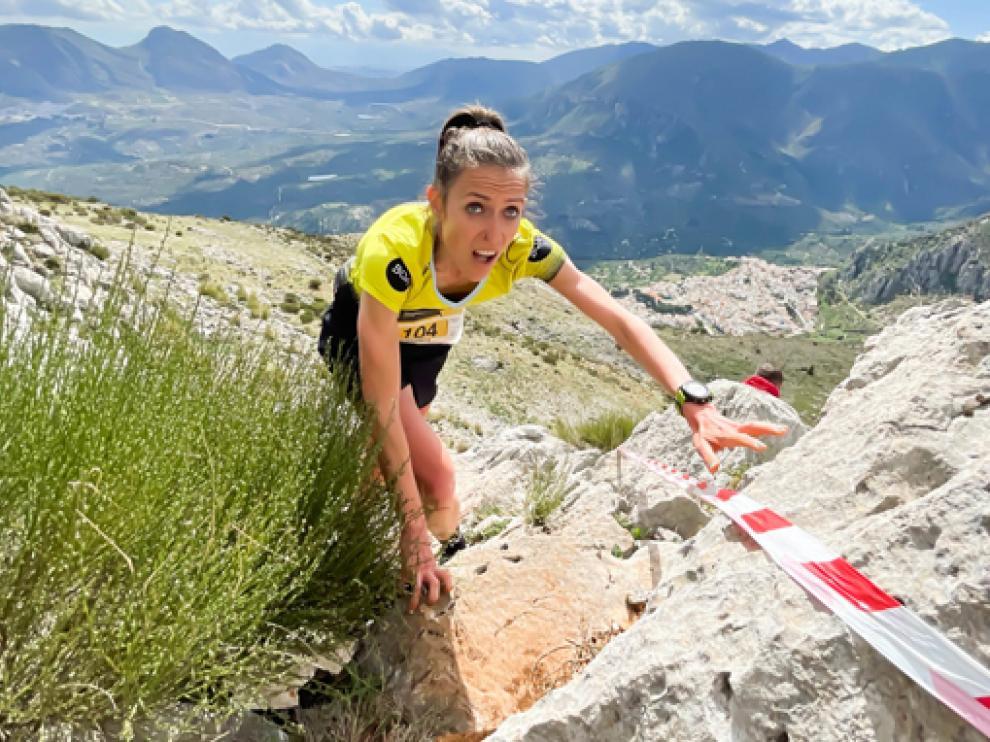 """""""Pondré todo de mi parte para llevar los colores de España a lo más alto"""", afirmó Virginia Pérez."""