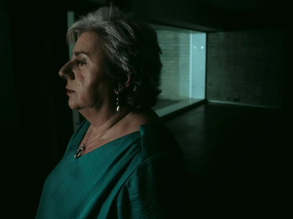 Dolores Vázquez se pone primera vez ante la cámara en veinte años.