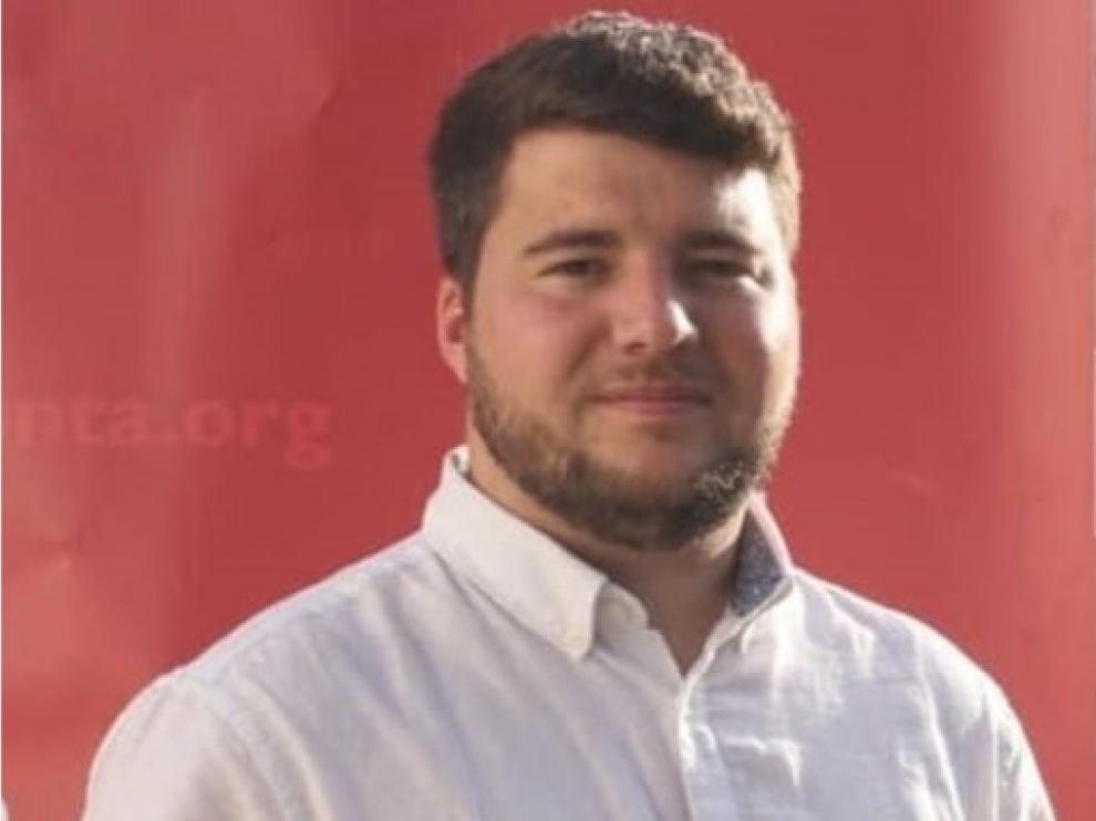 Iván Tella, presidente de CHA-Monegros