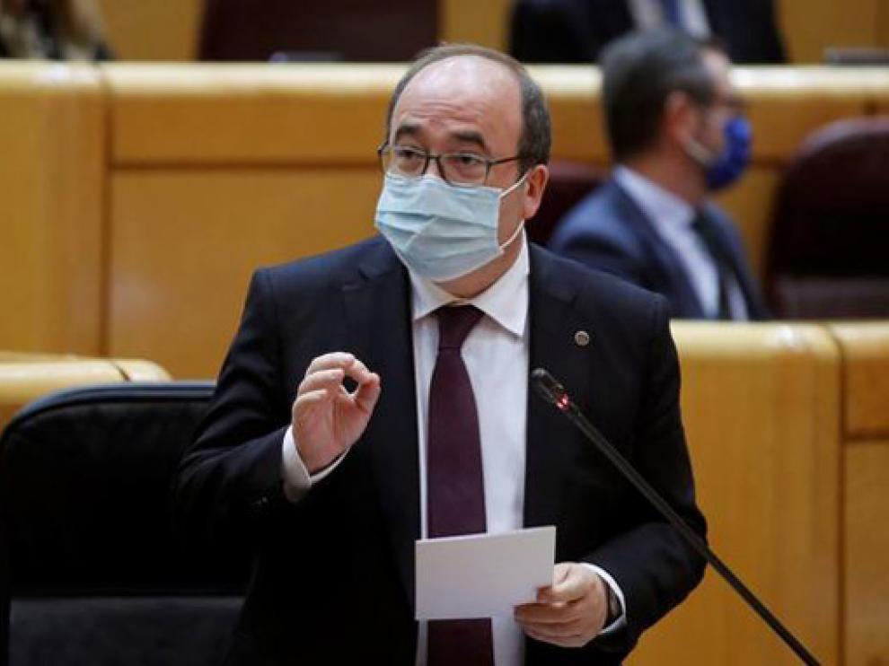 Miquel Iceta, nuevo ministro de Cultura y Deporte