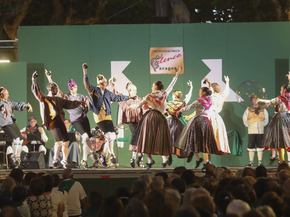 La última actuación del grupo Elenco en las fiestas de San Lorenzo de 2019.