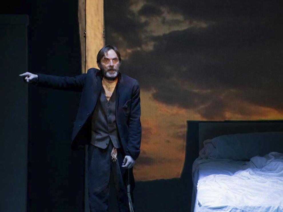 Pedro Rebollo, actor en 'La lluvia amarilla'.