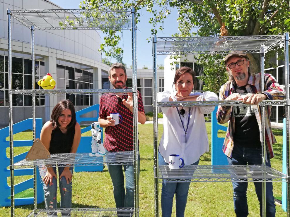 El nuevo programa de Aragón TV, 'Agujero de gusano', analiza los avances técnicos en nuestras casas.