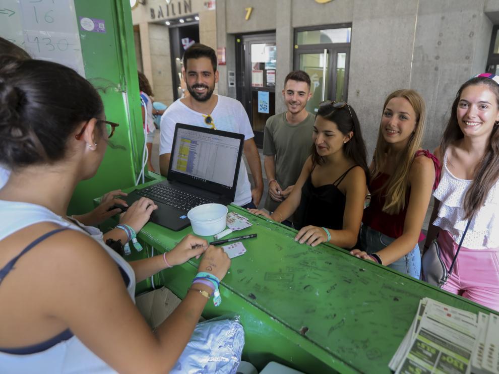 Imagen de archivo de la campaña de socios de las peñas.