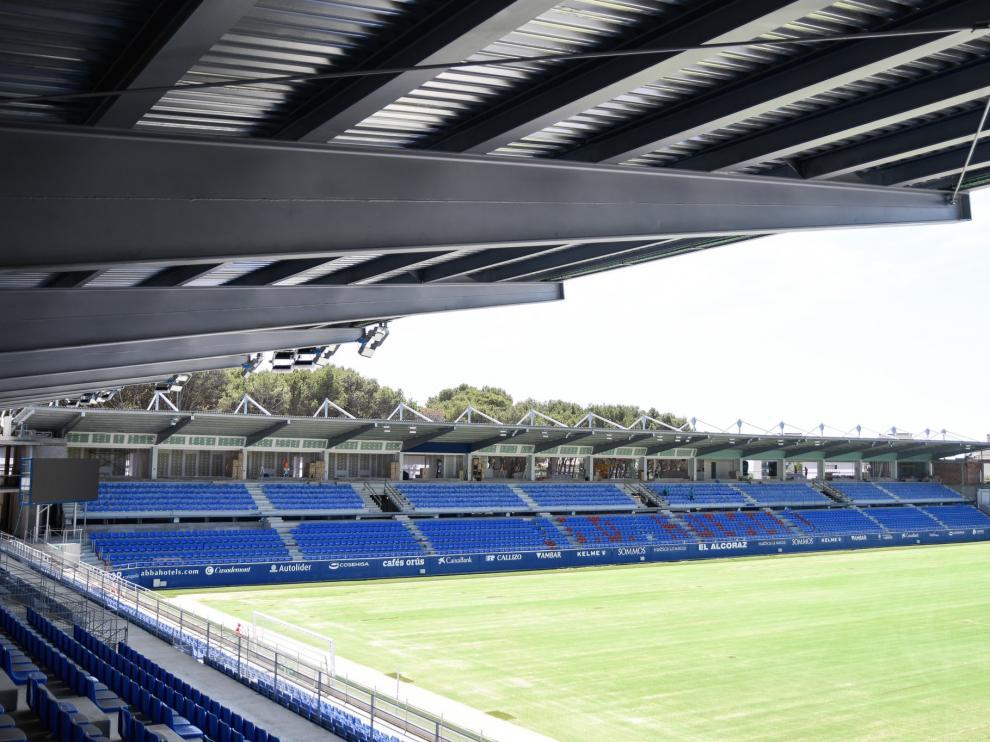 El Alcoraz será uno de los escenarios del Huesca B.