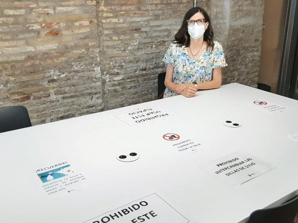 El Ayuntamiento de Monzón ha reabierto la sala de estudio.