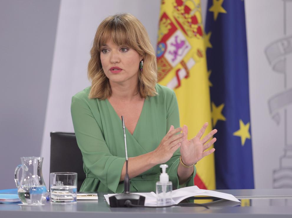 Ministra de Educación, Pilar Alegría.