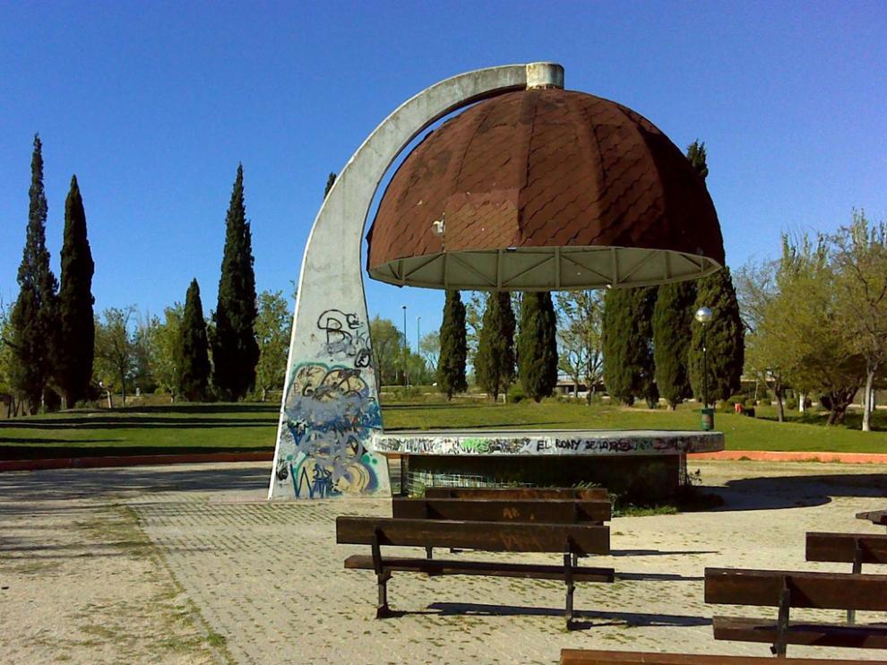 Parque Che Guevara en Zaragoza.