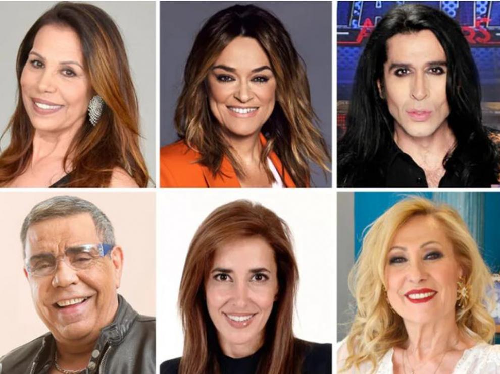 Telecinco ha informado de la lista de algunos de los participantes de Los miedos de...