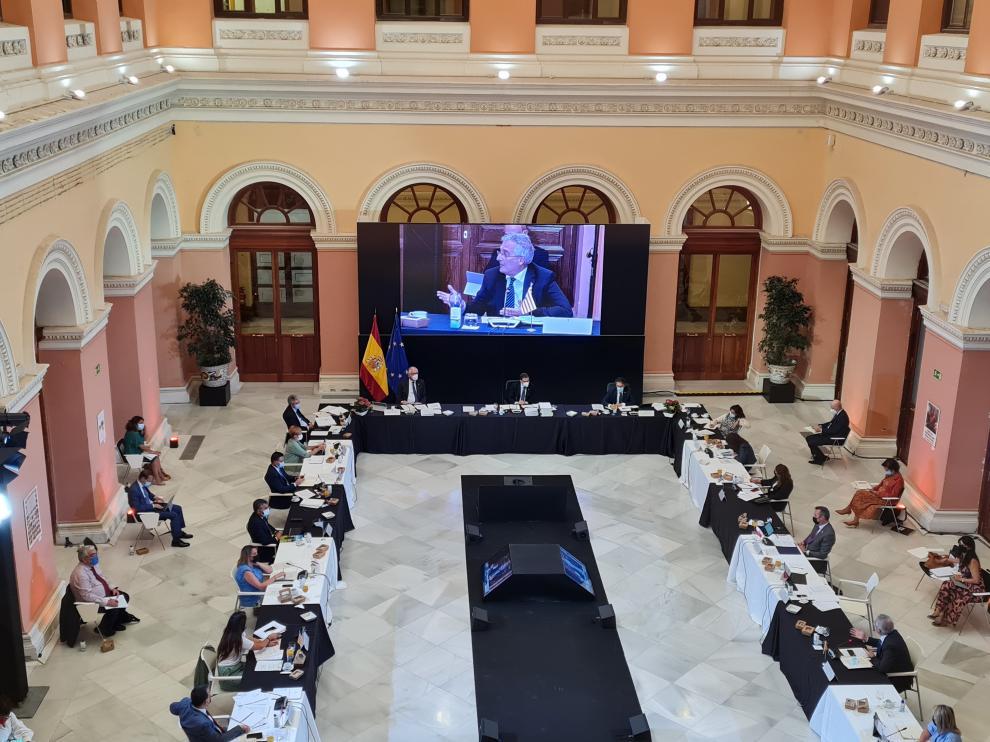 El consejero de Agricultura, Joaquín Olona, ha asistido al Consejo Consultivo y la Conferencia Sectorial.