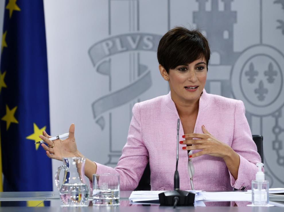Isabel Rodríguez, nueva portavoz del Gobierno