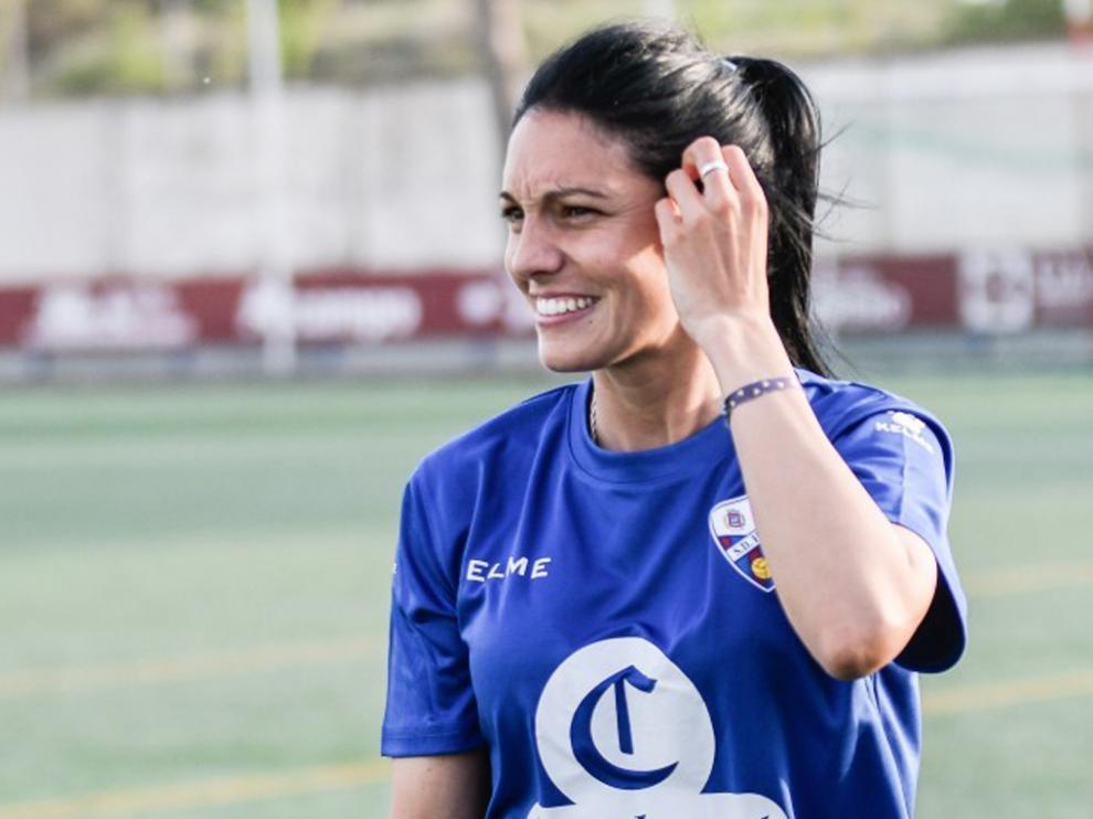 Verónica Rodríguez, entrenadora del Huesca.