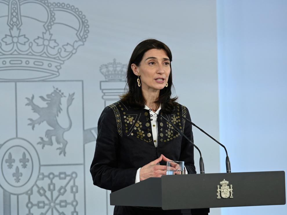 Pilar Llop, ministra de Justicia