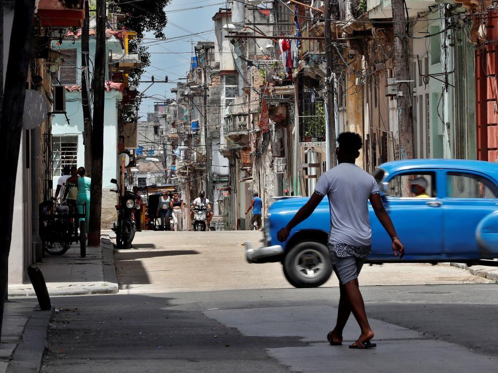 Imagen de una calle de La Habana.