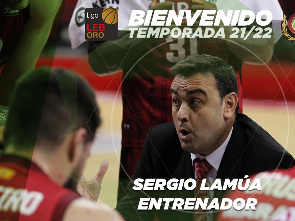 Sergio Lamúa, nuevo técnico del Levitec Huesca