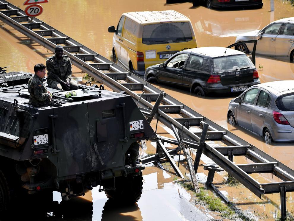 Devastadoras inundaciones en Alemania.