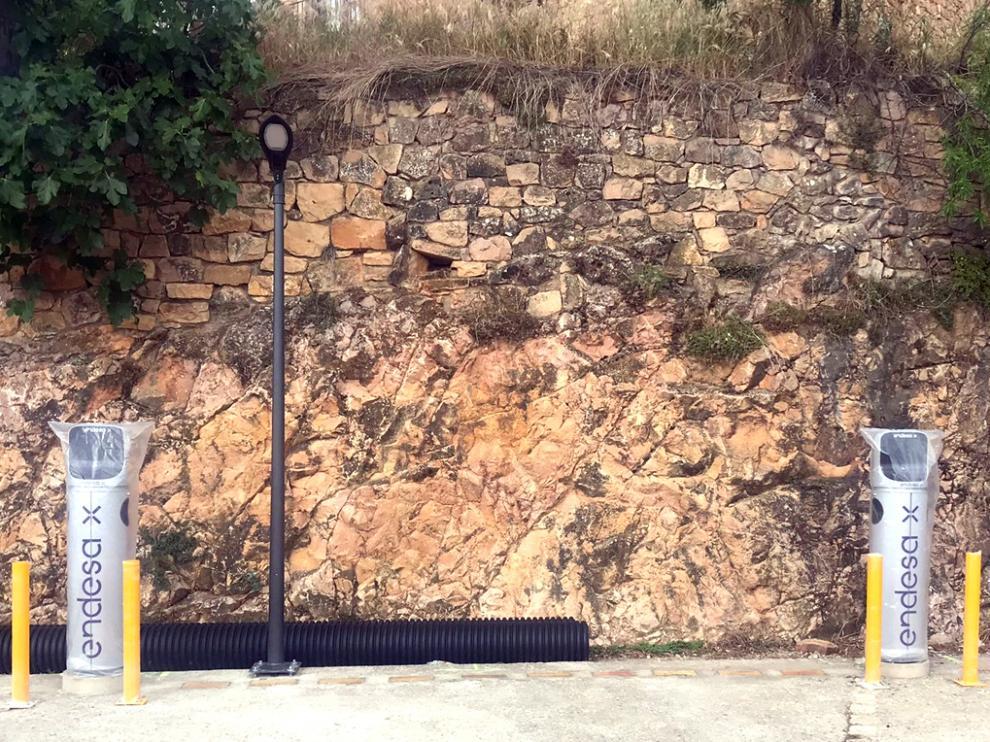 Electrolineras en Alquézar