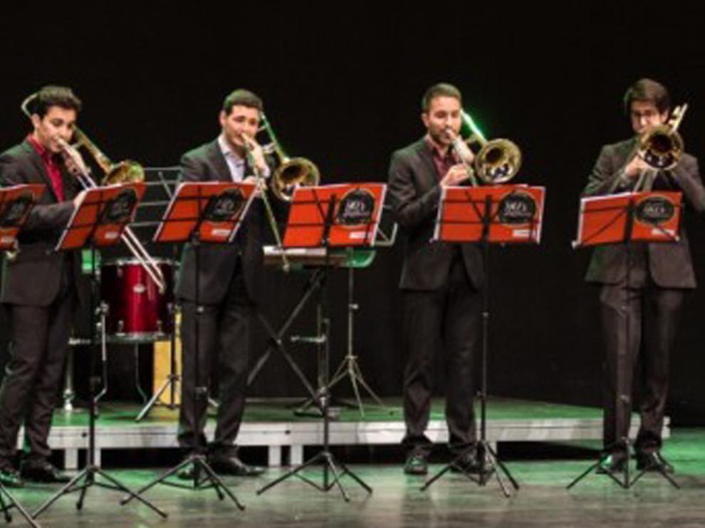 Nineties Trombone Ensemble será la encargada de inaugurar el Festival 'Clásicos en la Frontera'