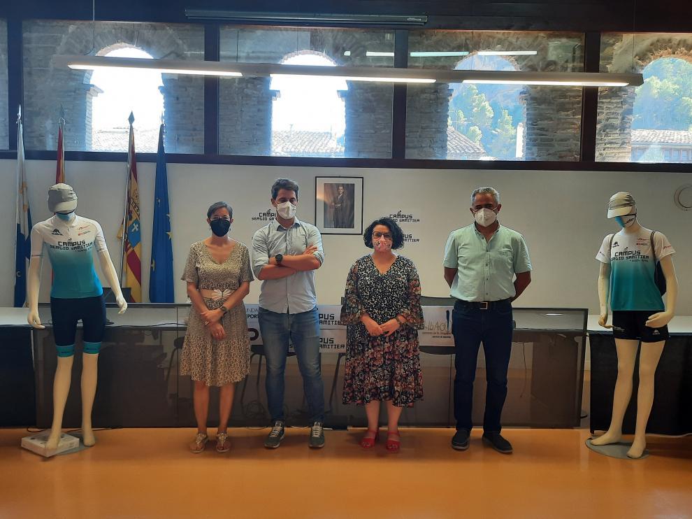 El Campus Sergio Samitier fue presentado el viernes.