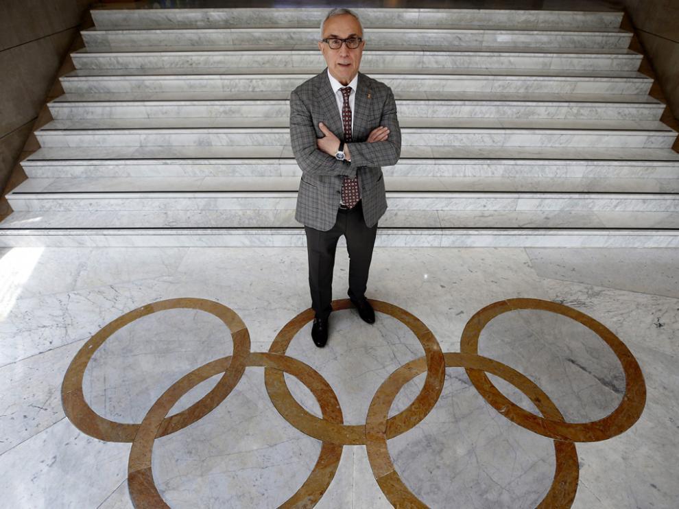 (COE).Alejandro Blanco, presidente del Comité Olímpico Español (COE)