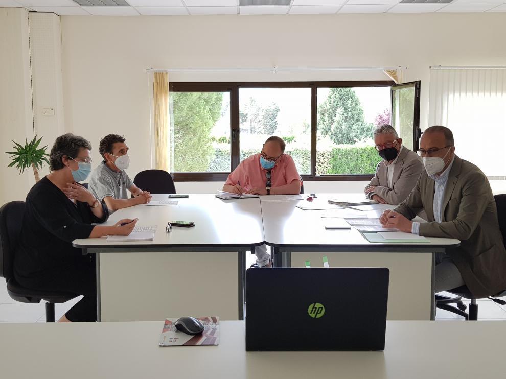 Reunión del Patronato de la Fundación Conjunto Paleontológico de Teruel-Dinópolis.