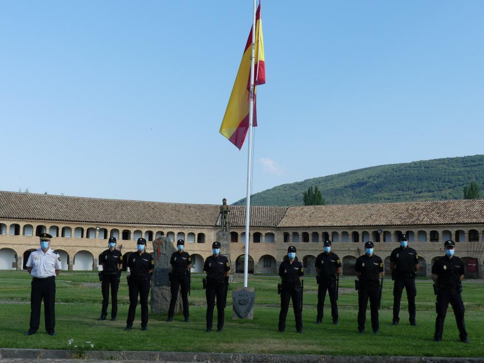 Incorporación de 62 Policías en prácticas en Aragón.