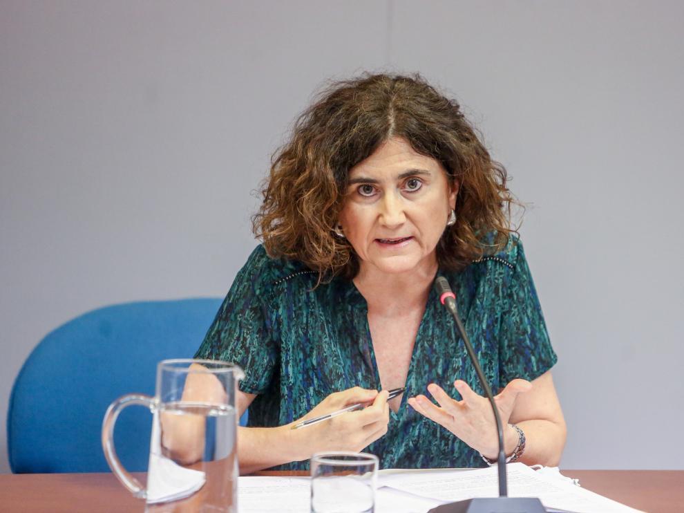 María José Sierra, jefa del área del Centro de Alertas y Emergencias Sanitarias.