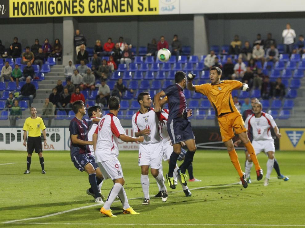 El último partido entre el Huesca y el Cartagena se jugó en 2013.