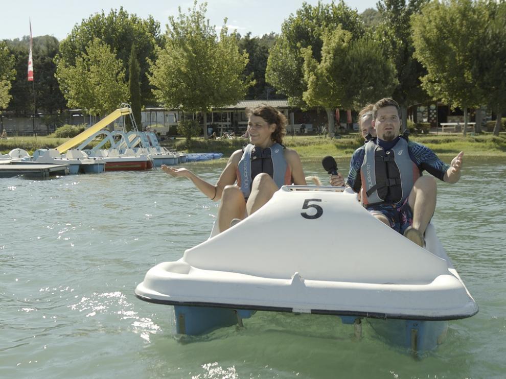 El programa de Aragón TV visita Graus y el lago Barasona.