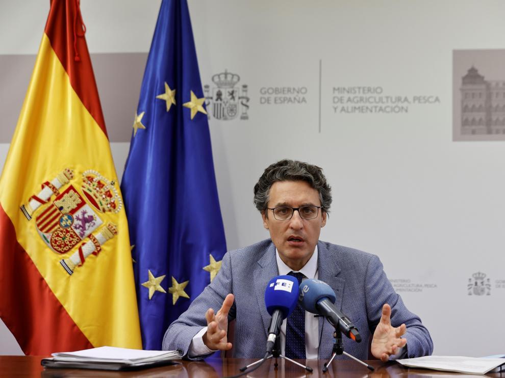 El secretario general de Agricultura y Alimentación, Fernando Miranda.