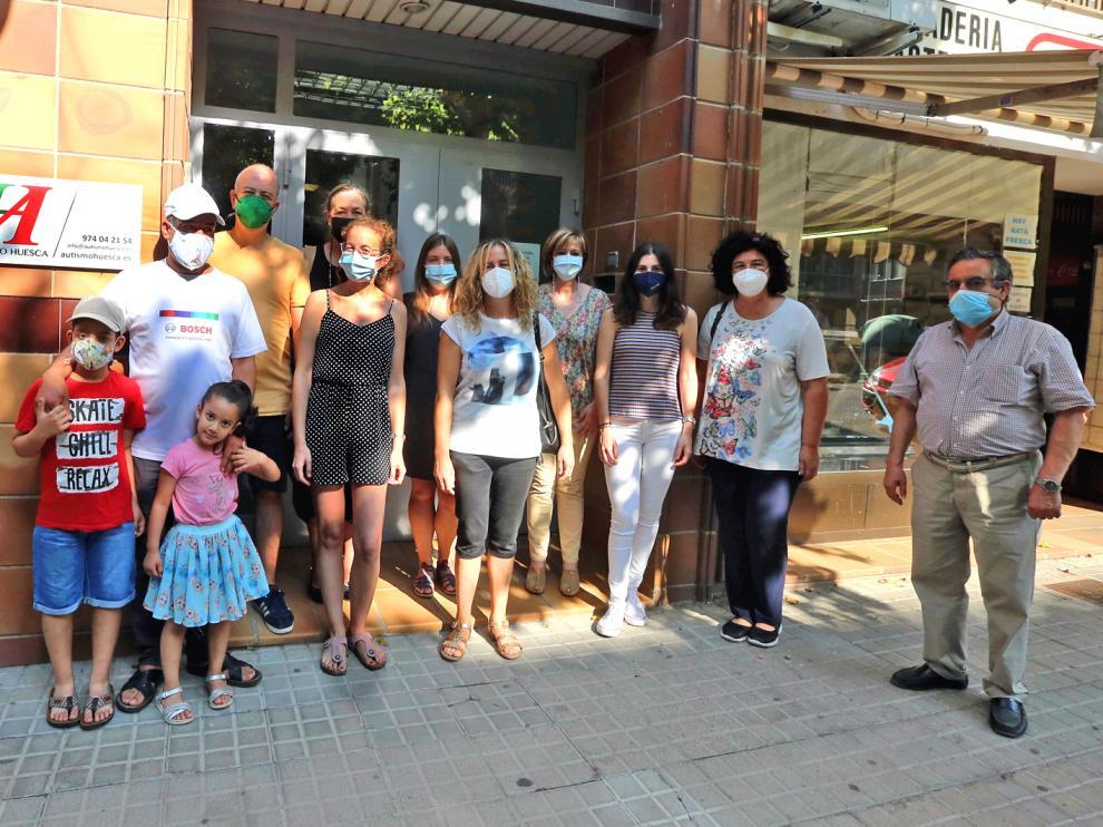 Concentración de Autismo Huesca