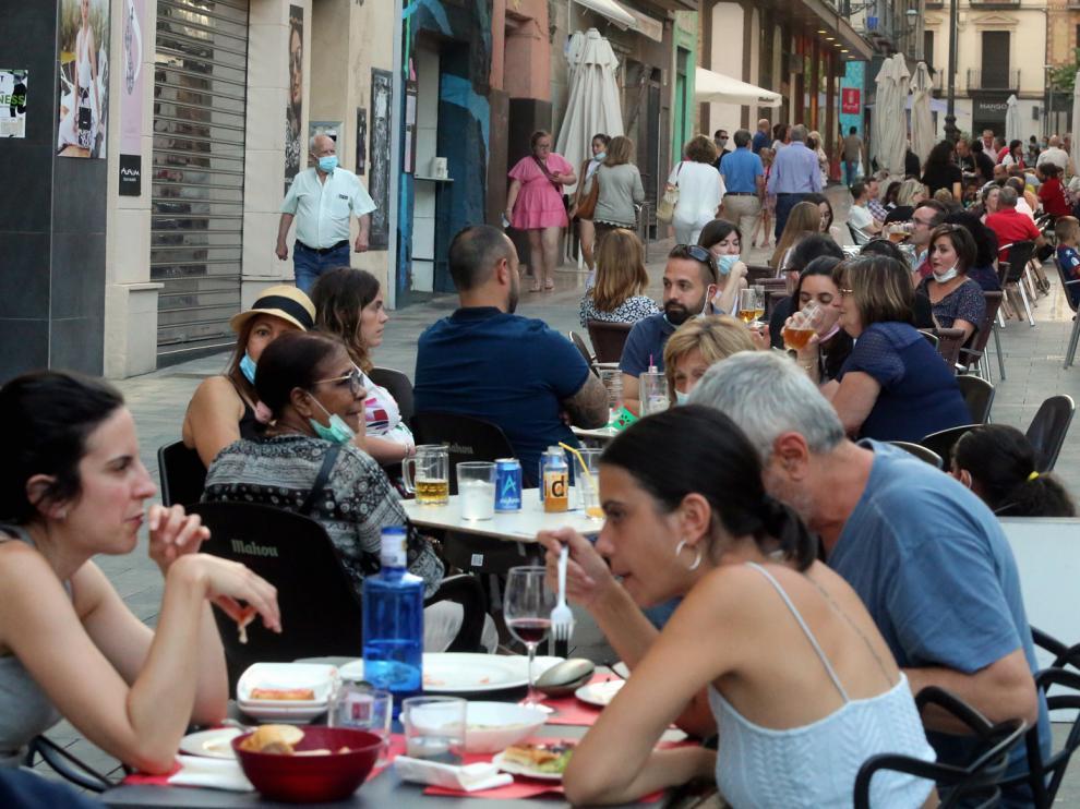 Estas ayudas se destinarán al apoyo de los sectores de hostelería y restauración de la ciudad de Huesca