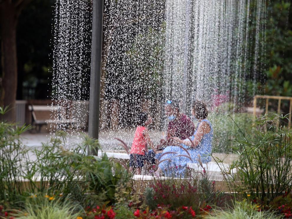 Imagen tomada en el Parque de Huesca