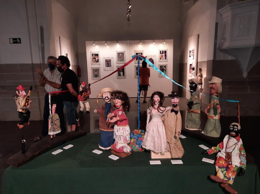 Exposición de títeres en Graus, en el marco de Nocte
