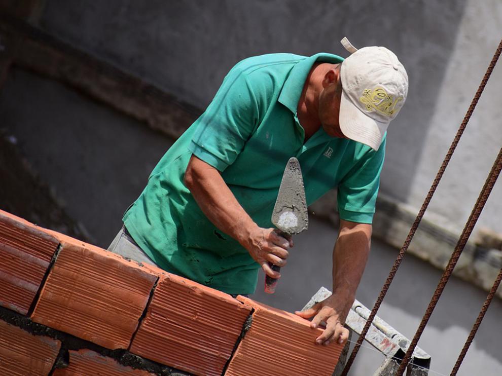 El proyecto de escuela taller Renova-Sab está especializado en el trabajo de albañilería