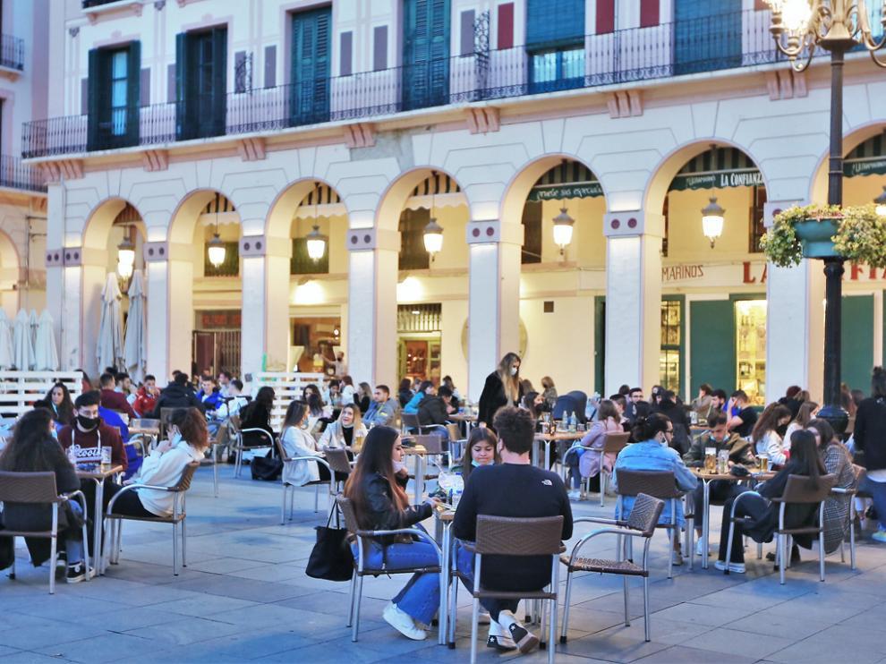 El Gobierno de Aragón apuesta por aplicar el toque de queda en en las ciudades más afectadas por la covid-19