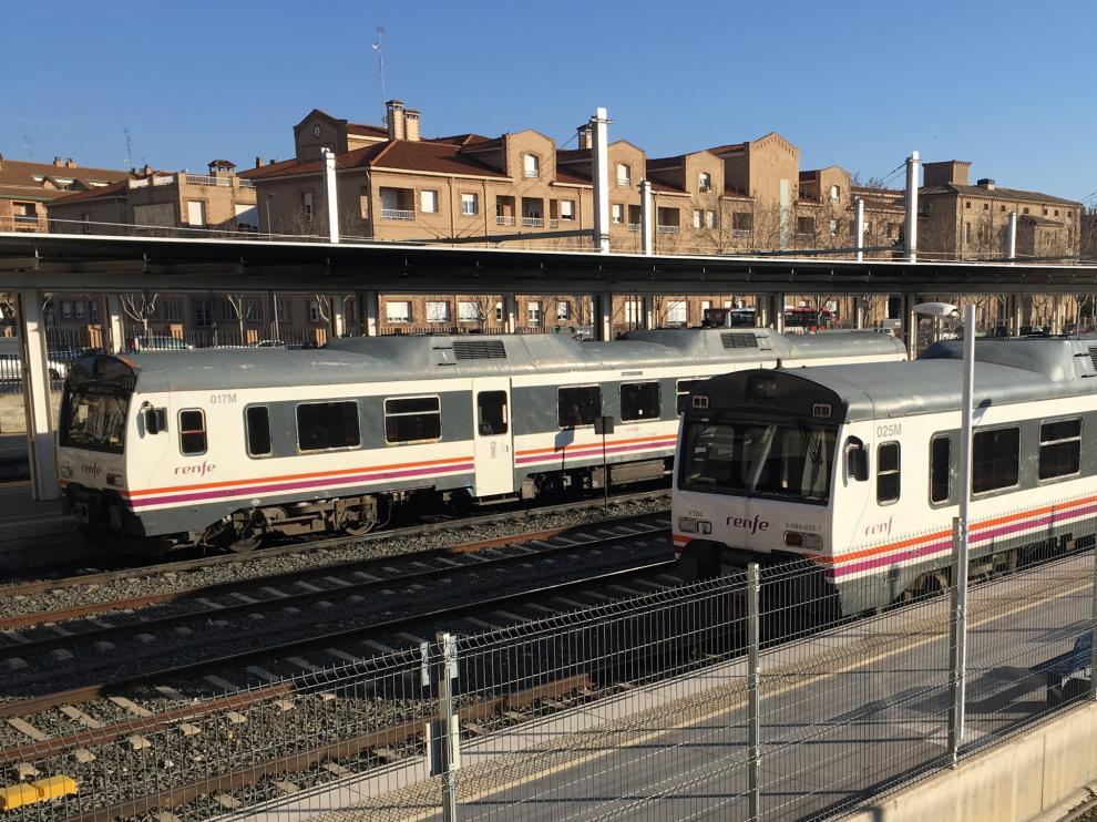 """En líneas como la Huesca-Canfranc el tren de referencia sigue siendo el """"tamagochi""""."""