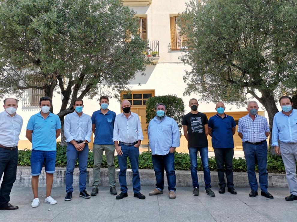 Se ha constituido la asociación Oliveras del Pirineo para conseguir la D.O. Somontano del aceite