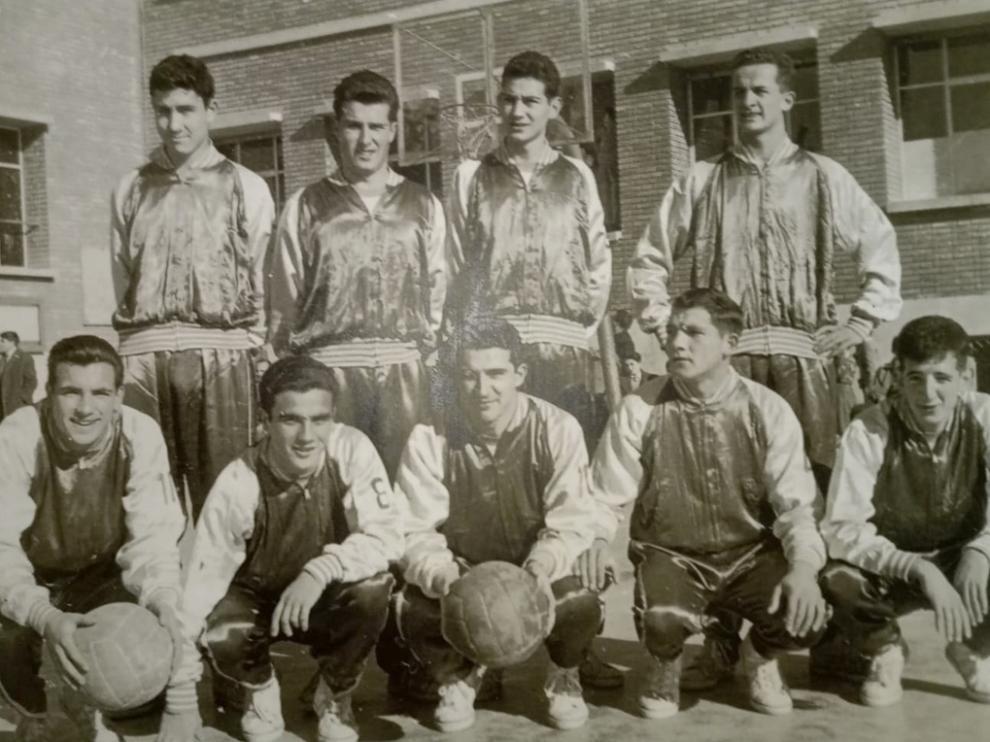 Equipo del histórico Alimentos Porta, que jugaba en San Viator