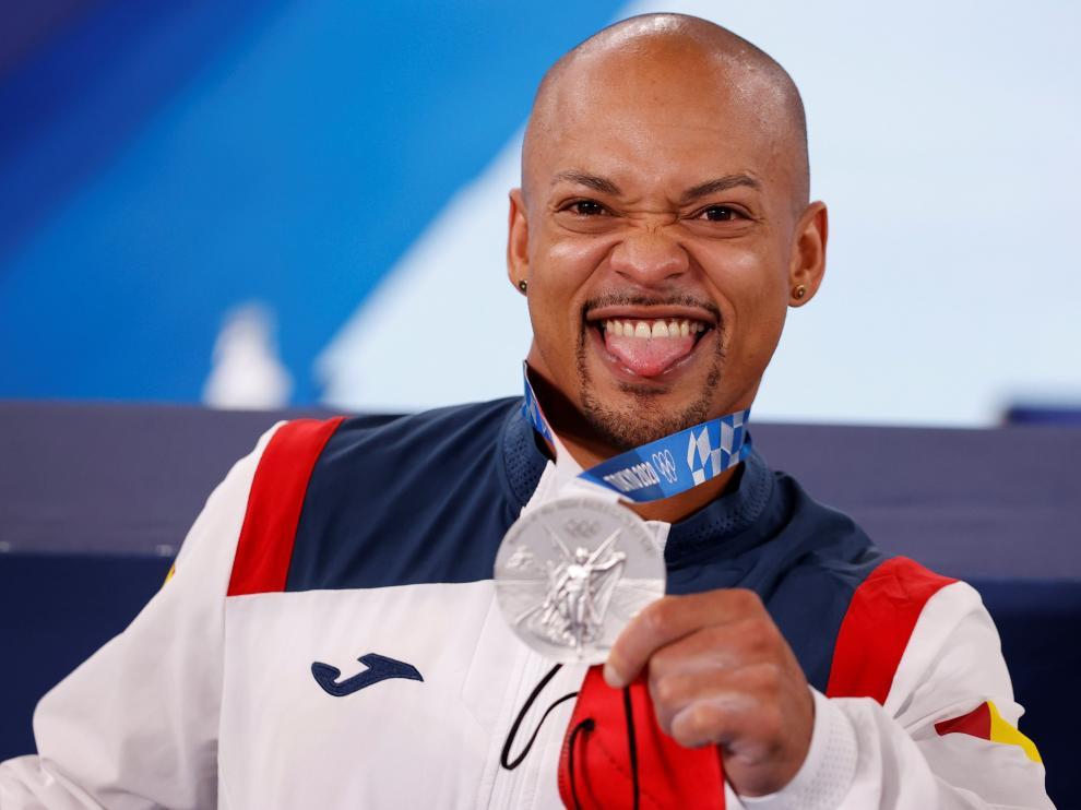 Ray Zapata, de 28 años, participa en sus segundos Juegos Olímpicos.