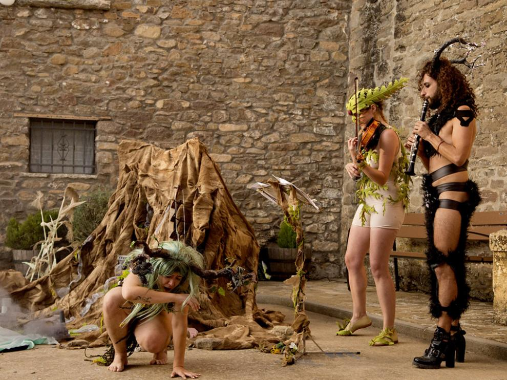 El gran talento de Victoria Crespo, Eva Laliena y David Lobera brilló en Triste.