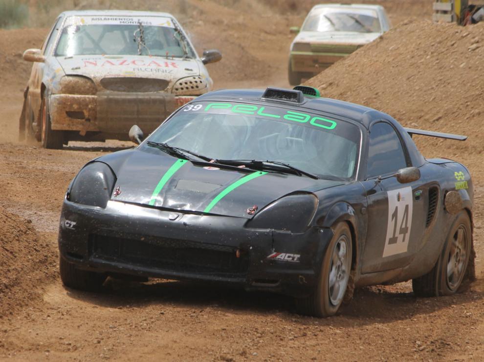 José María Escuder se llevó la victoria en Monreal del Campo, al volante de un Toyota MR2.