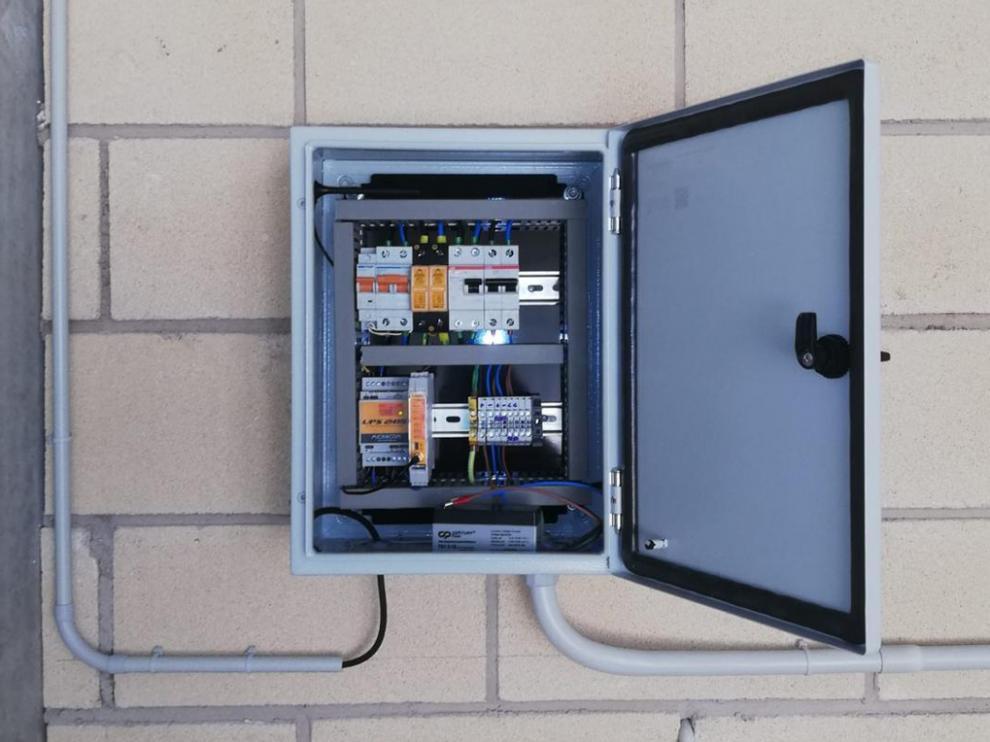 La monitorización permite detectar fallos de la corriente eléctrica.