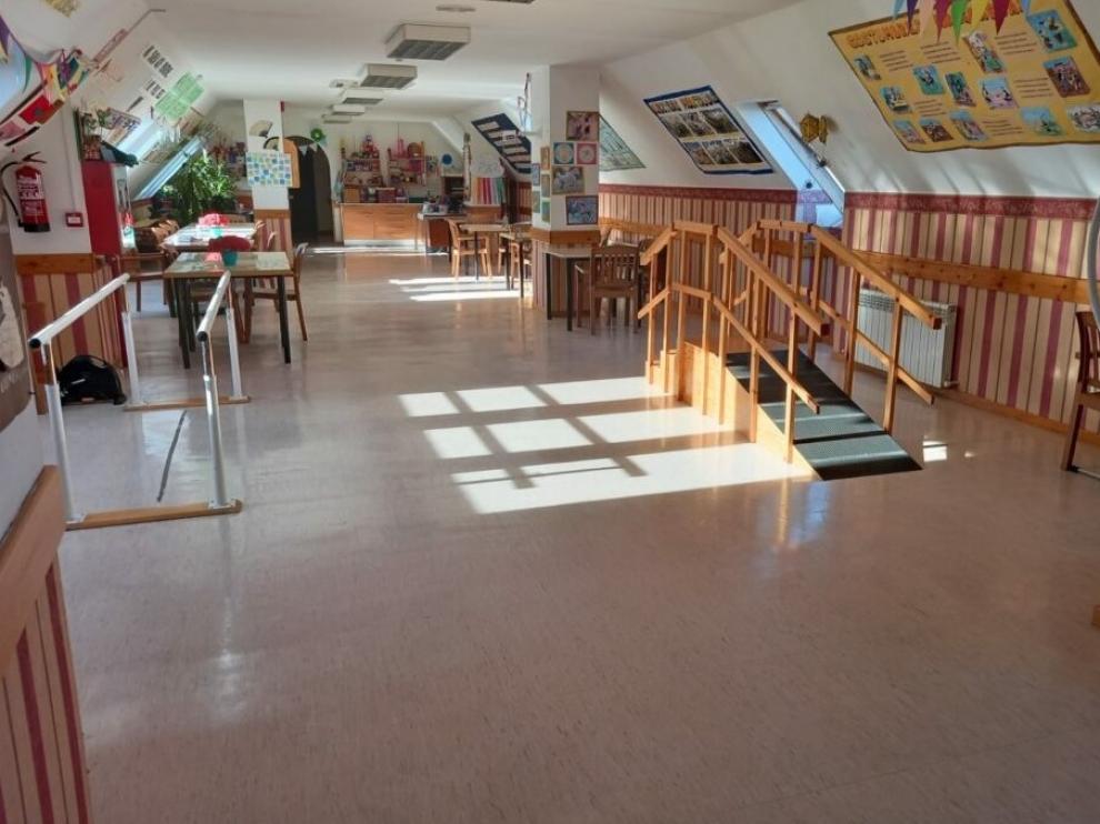 Instalaciones de la residencia de personas mayores Emera-Valles Altos.