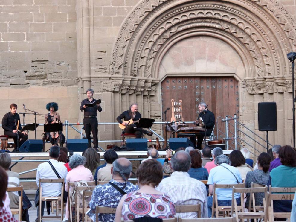Eloqventia realizó su último concierto en el exterior de la ermita de Nuestra Señora de Salas