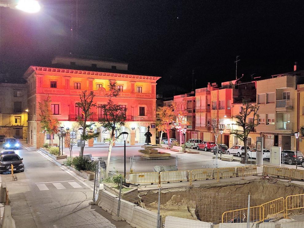 Plaza donde se realizarán las obras