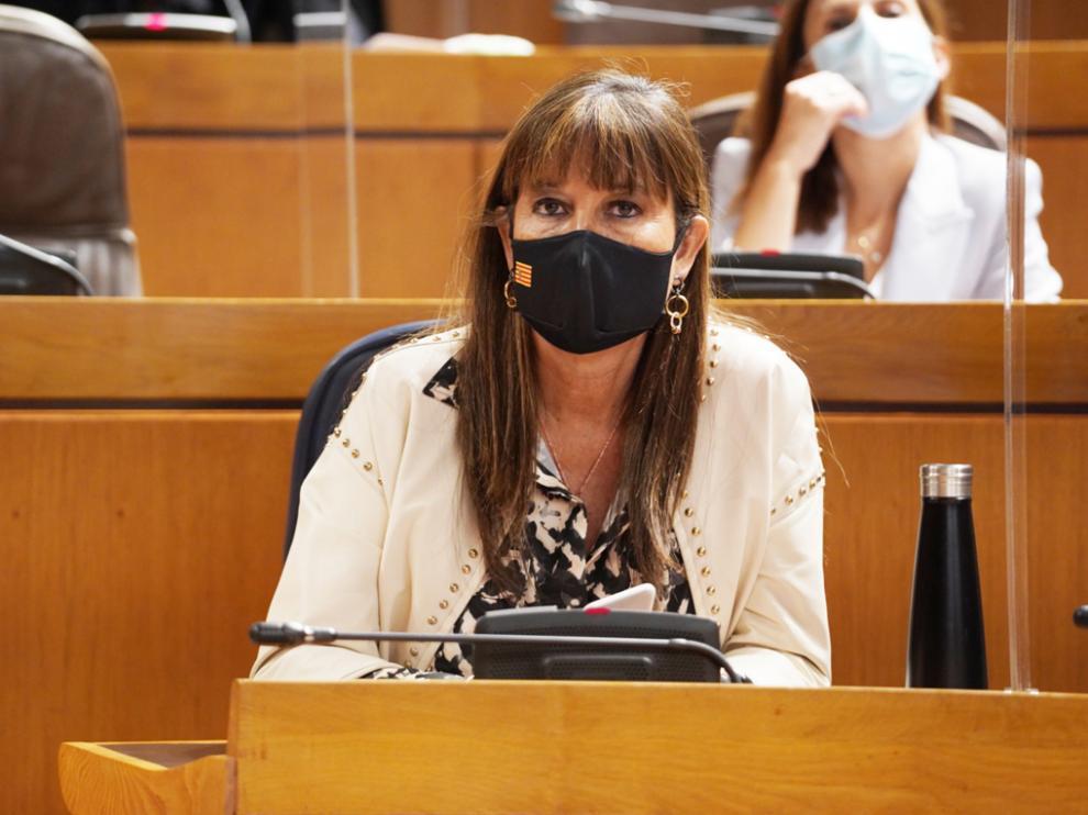 Sira Repollés Lasheras. Consejera de Sanidad del Gobierno de Aragón