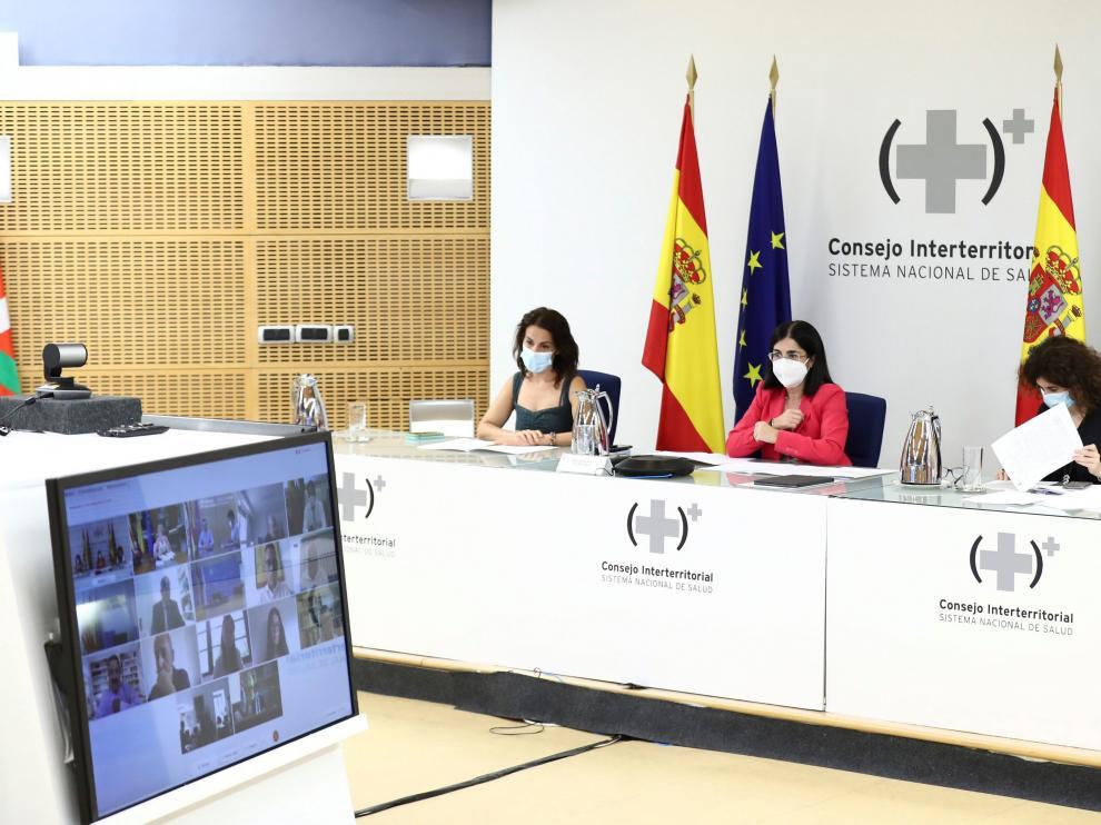 El Consejo Interterritorial de Salud ha celebrado hoy una reunión por videoconferencia.