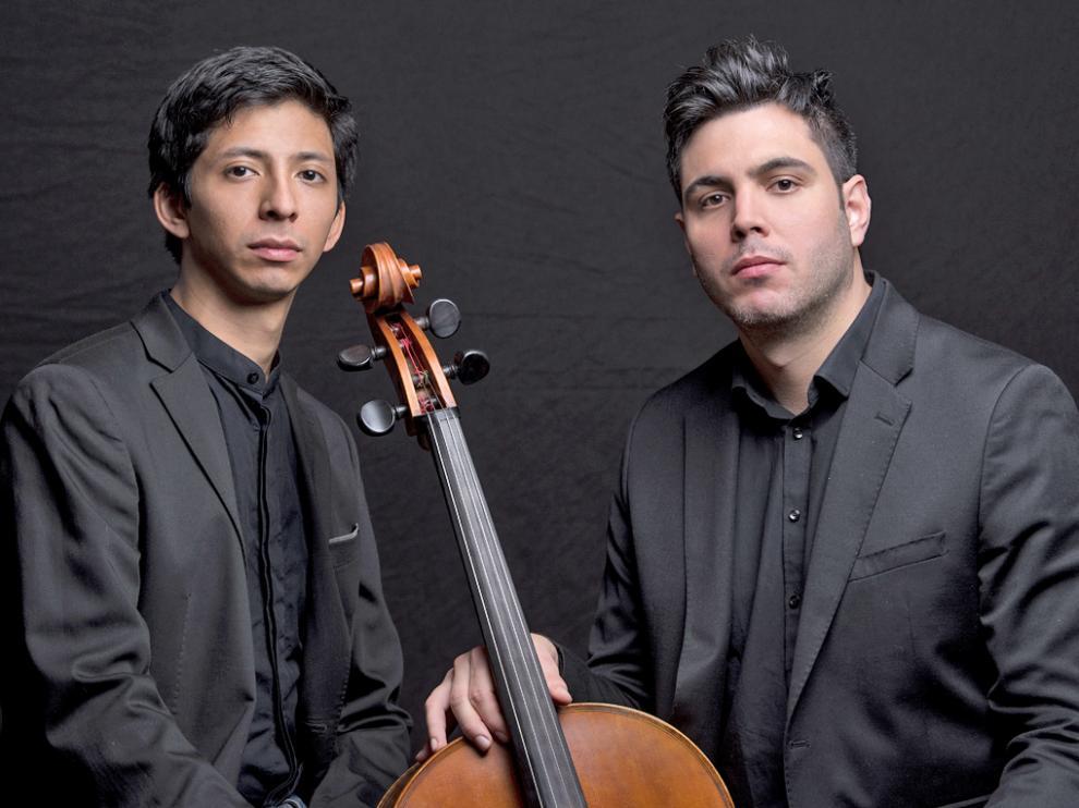 Jorge Nava y Eros Jaca presentan en el Museo de Huesca el repertorio de su disco Parfums Sonores
