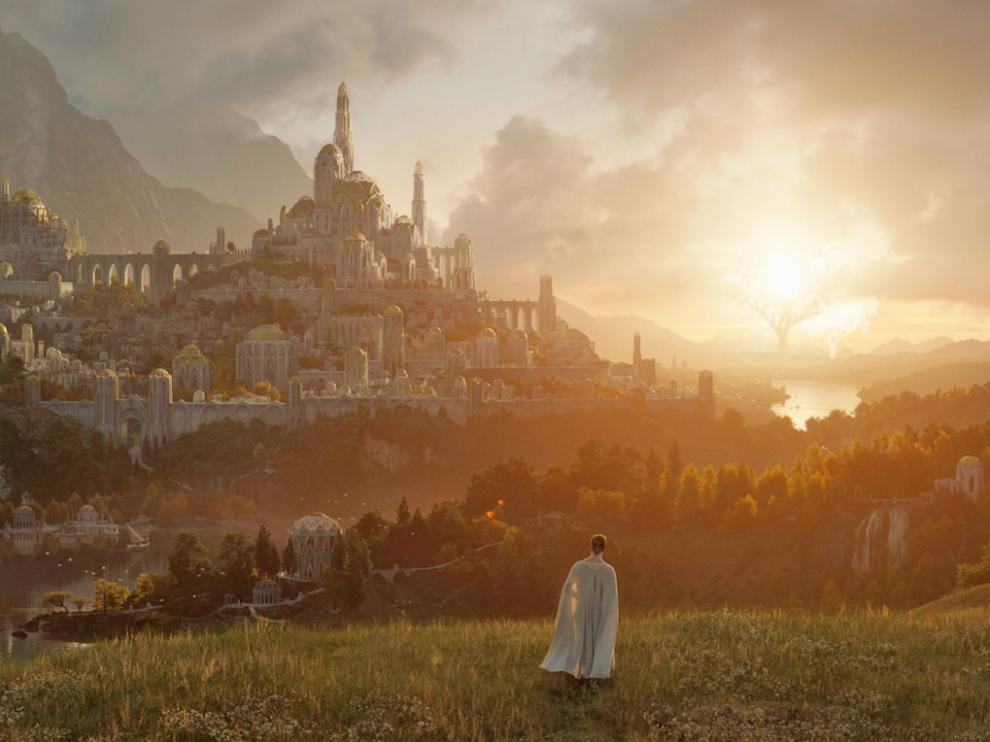Primera imagen de la serie 'El señor de los anillos'